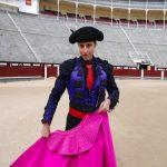 Torera en la Plaza de Toros de las Ventas
