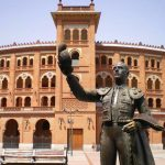 Estatua cercana a la Plaza de Toros de las Ventas