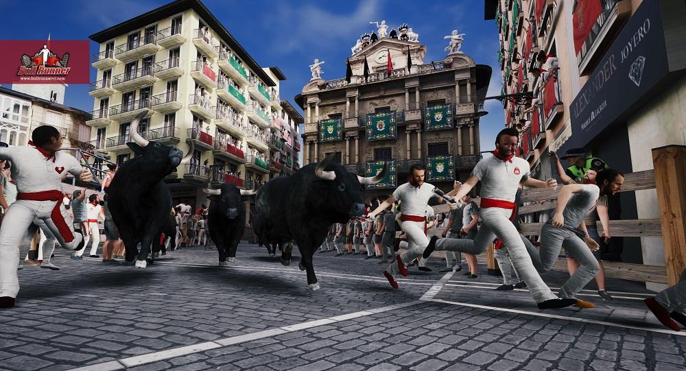 juego virtual de san fermín