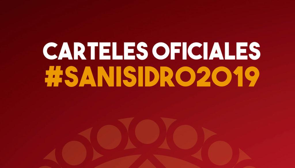 carteles san isidro 2019